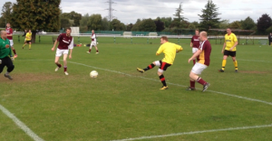 Sterry slots home the second WIFC goal