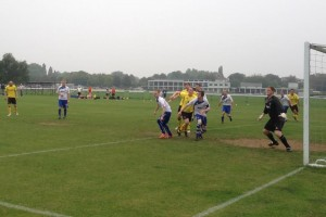 More goalmouth action